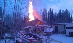 Officials say wood stove likely cause of North Pole-area fire