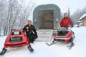 40 years after hanging up their helmets, the Binkley brothers return to Lower 48 for snowmachine races