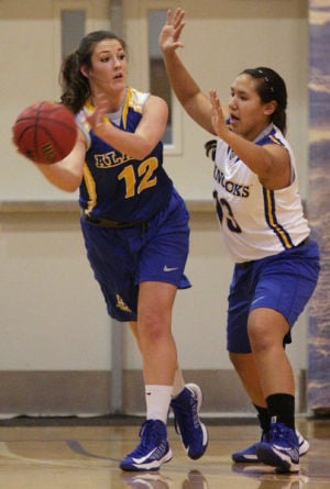 Nanooks basketball coaches gauge teams in Blue-Gold scrimmages