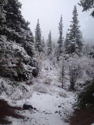 Snow expected in Fairbanks area Tuesday