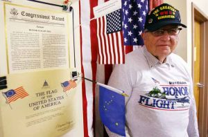 Alaska veterans of World War II participate in Honor Flight program