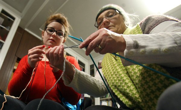 Fairbanks knitting group makes winter essentials for those in need