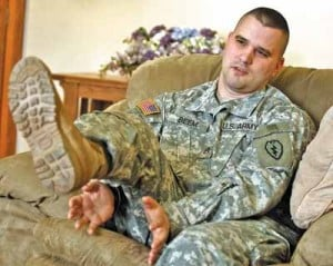 Amputee soldier from Fort Wainwright returns to Iraq as part of Army program
