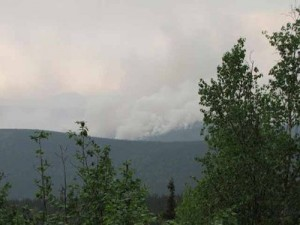 Tanacross residents return home; wildfires burning across Interior Alaska