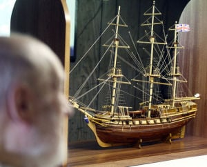 Boat builder: Fairbanks man relives history with hyper-detailed models