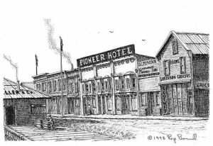 Fairbanks' early hotel no longer stands, but history remains