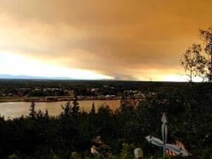 Bear Creek Fire doubles in size; dozens of homes, cabins threatened
