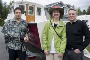 Alaskan trio live to tell of survival after glacier falls atop them