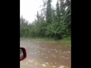 Jones Road flooding