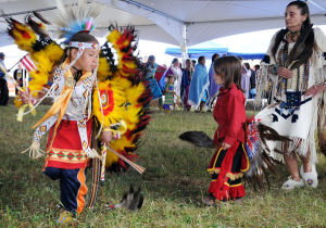 Midnight Sun Intertribal Powwow continues today at Carlson Center