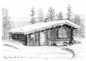 UAF's Rainey-Skarland cabin rich with history