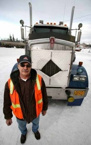 Carlile driver stays safe on desolate Dalton Highway