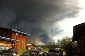 Wildfires flare up in Tanana Flats, send smoke into Fairbanks
