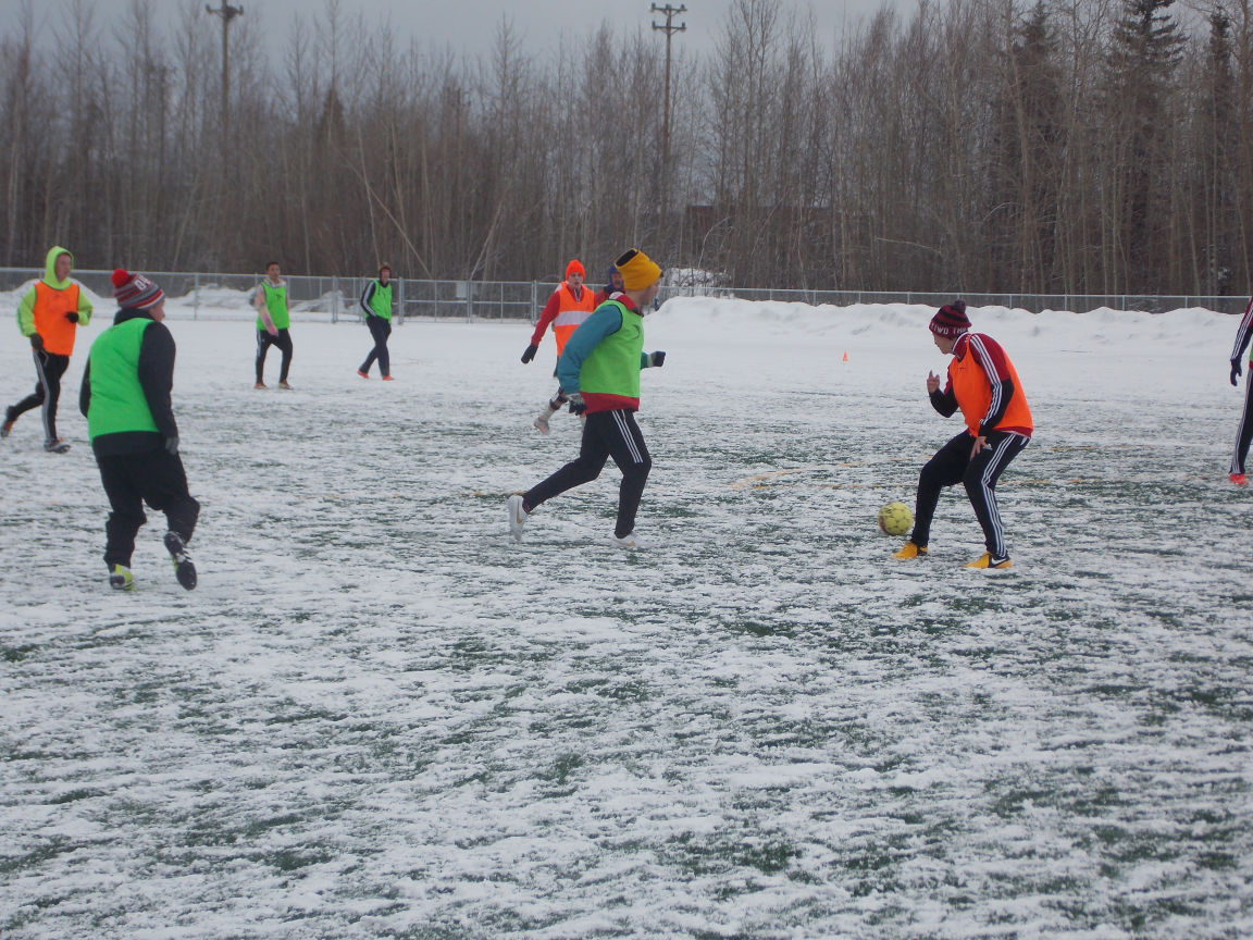 Turf fields give interior alaska soccer season early start - Interior community health center fairbanks ...
