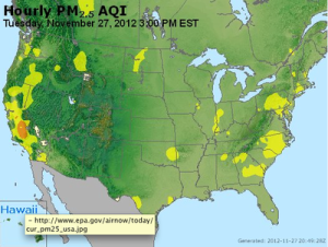 Not breathing easy: local pollution levels could be highest in the United States