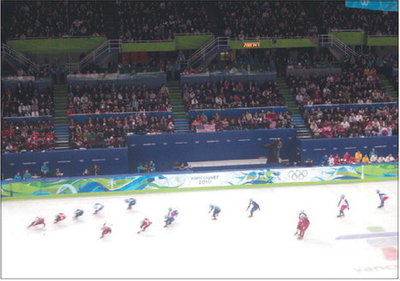 Fairbanks Daily News-Miner reporter attends Olympics; brings home medal in bus-catching