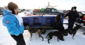 George Attla mushing students
