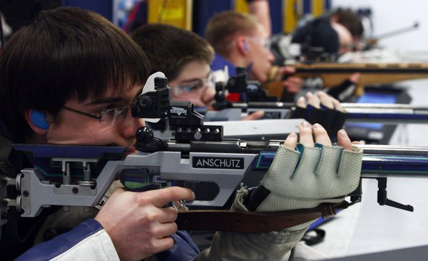 A pair of sweeps highlight conference rifle championships