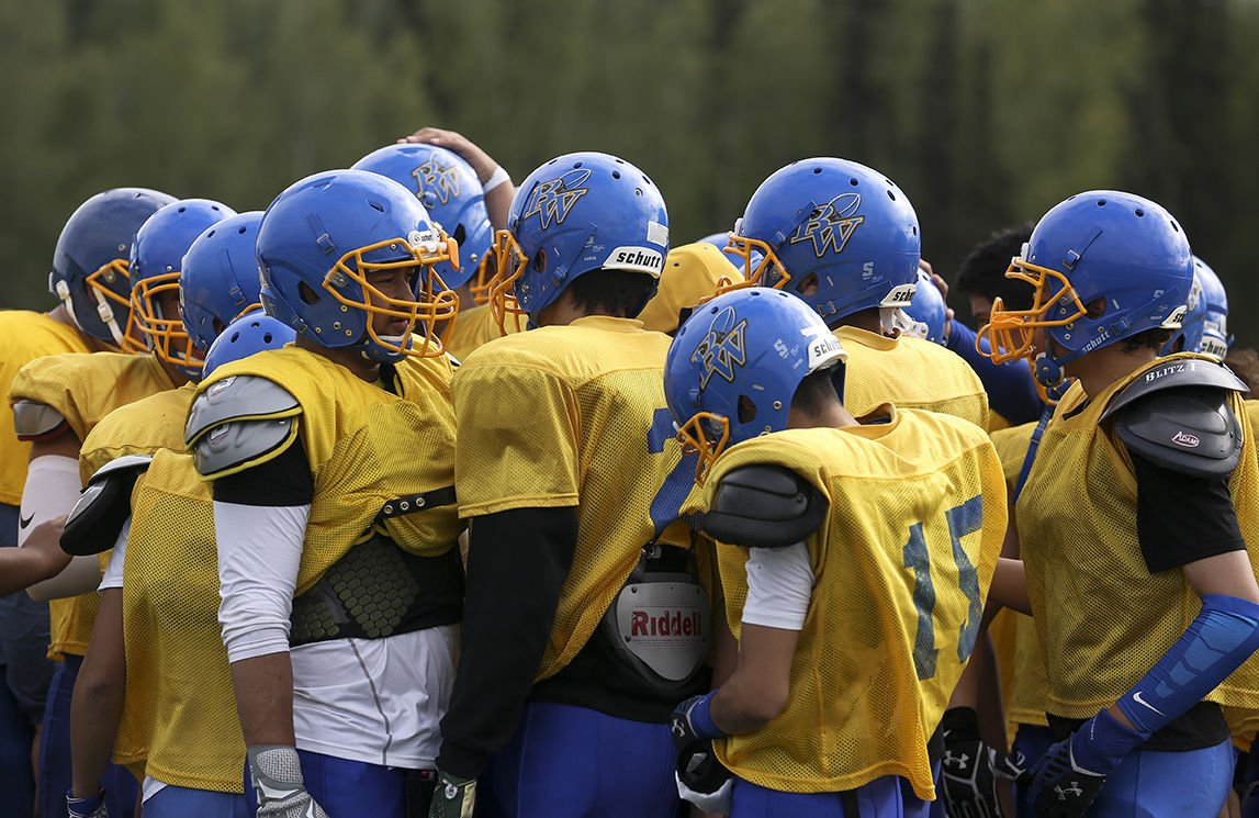 Barrow ventures to fairbanks for first football jamboree - Interior community health center fairbanks ...
