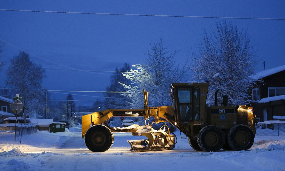 Winter storm slams interior alaska dot warns against - Interior community health center fairbanks ...