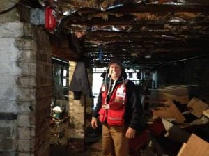 Fairbanks volunteer travels to East Coast to help clean up after superstorm