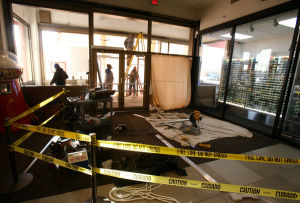 Man who drove into mall doors charged with DUI; level of intoxication still unknown