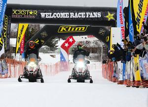 Faeo, Quam win bruising Iron Dog snowmachine race
