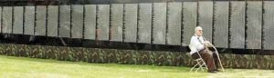 Traveling wall pays homage to Americans killed in Vietnam