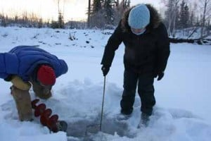 National Weather Service tracks ice, snow depths in Alaska to forecast breakup severity