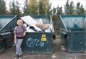 Dumpster chic: Your trash is a treasure for Fairbanks' frugal fashionistas