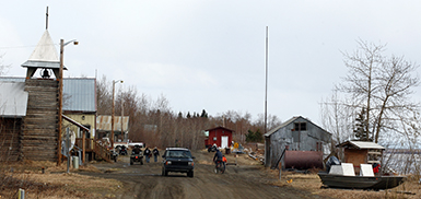 tanana leaders ask two men to leave the  munity for