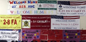 Another 100 soldiers return home from a year in Afghanistan