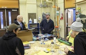 Angoon High shop students learn automotive trade