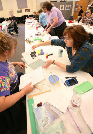 Teachers take time out of summer to learn about incorporating arts into education