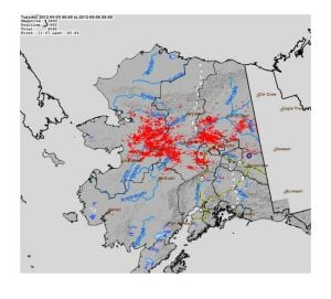 Lightning strikes cause Interior Alaska wildfires