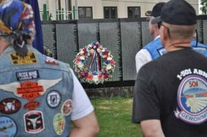 A time to heal: Residents, veterans and readers pay respect to Vietnam War dead