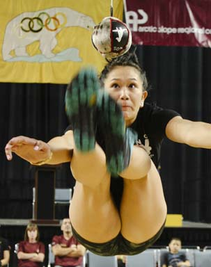 World Eskimo-Indian Olympics Two-Foot High Kick