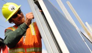UAF installing solar panels for Sustainable Village to open this fall