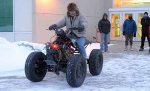 University of Alaska Fairbanks students take on electrifying ATV project