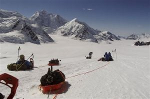 Weather, not limitations, end wounded warriors' Denali climb