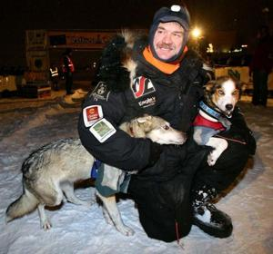 2013 Yukon Quest Allen Moore winner