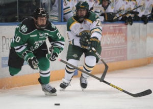Youthful North Dakota lineup shuts out UAA