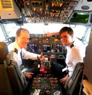 Former Fairbanksan Josh Carlstrom joins Alaska Airlines as 737 copilot