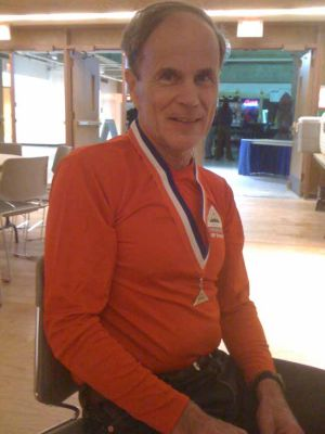 Tim Middleton helped blaze the Equinox Marathon trail