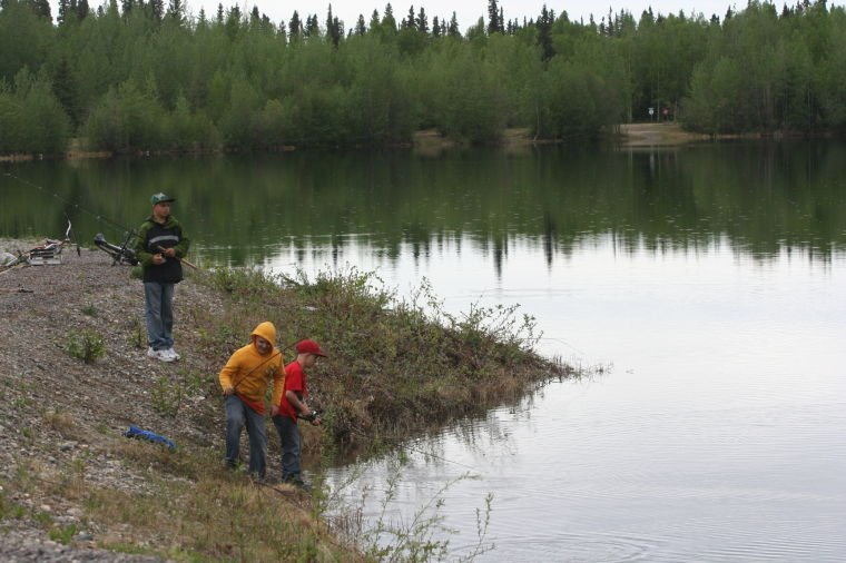 Adfg stocking alaska lakes ponds with fish from ruth for Stocked fishing ponds