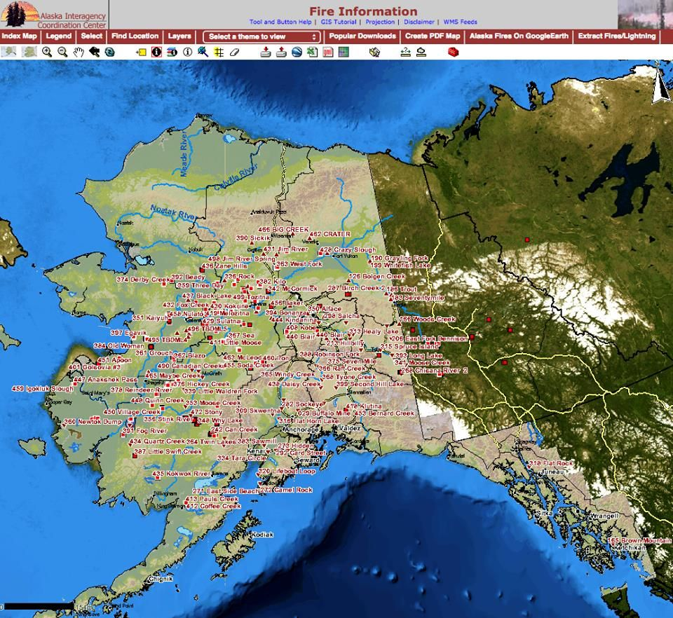 Tuesday updates on interior alaska fires local news - Interior community health center fairbanks ...