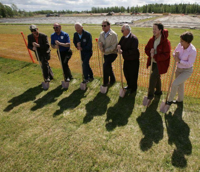 Artificial Turf Groundbreaking Ceremony