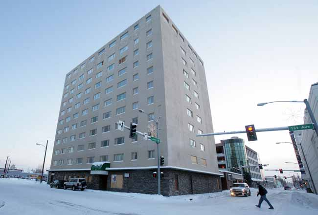 Unorthodox ideas emerge for Fairbanks' Polaris Building