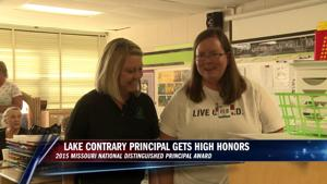 Lake Contrary Principal receives distinguished honor