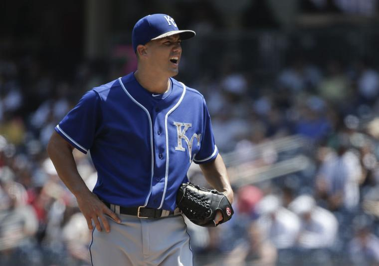 Royals Yankees Baseball